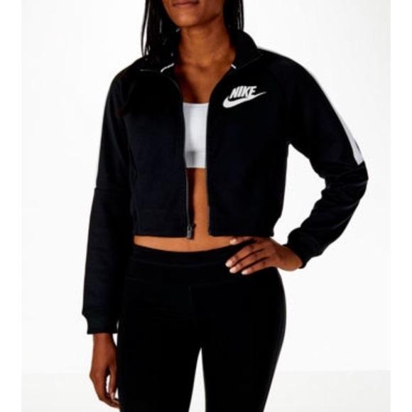 6acbcc4ed0c94 Nike Jackets & Coats | Sportswear Cropped Jacket | Poshmark
